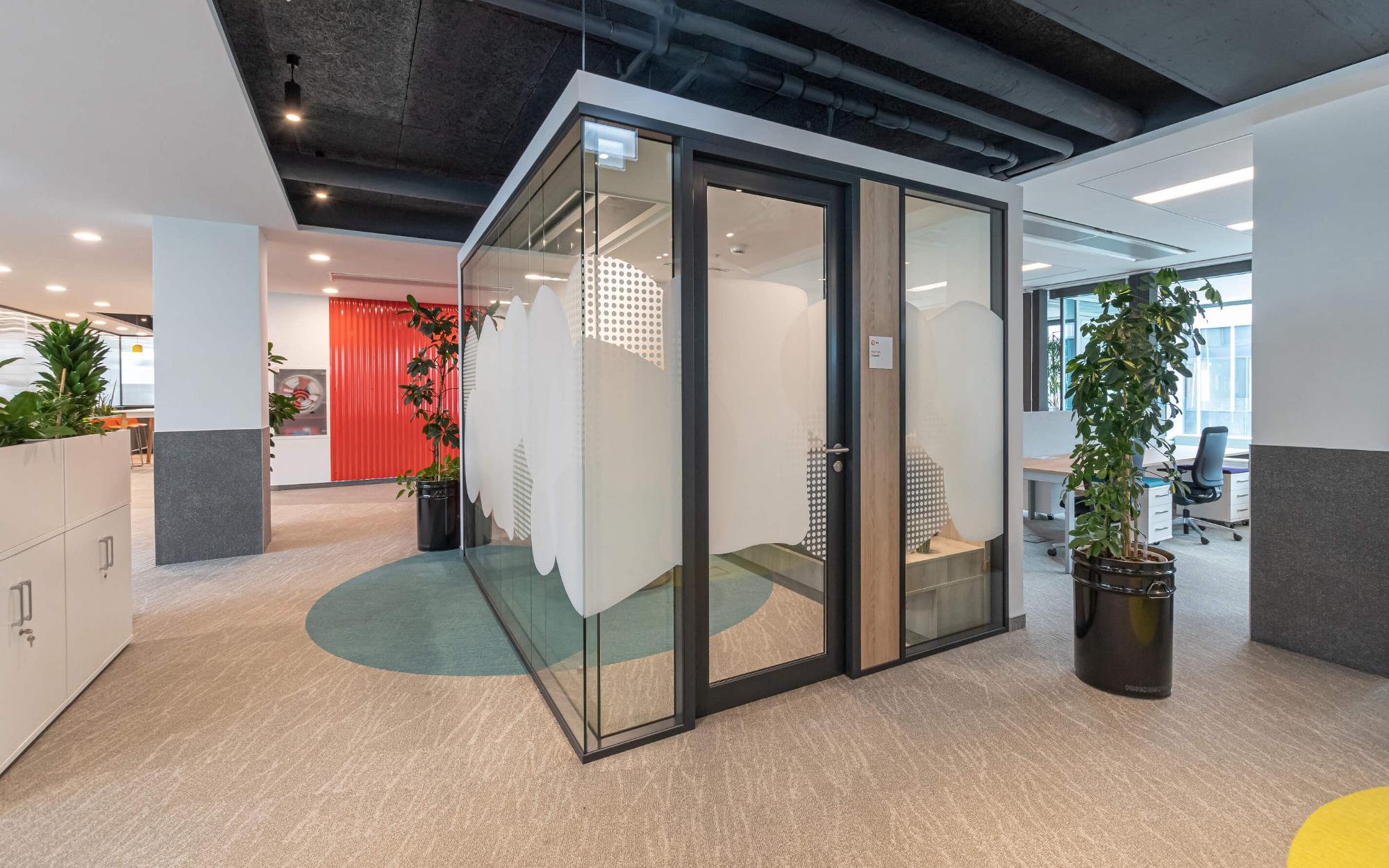 Kancelárie s pocitom útulného domova