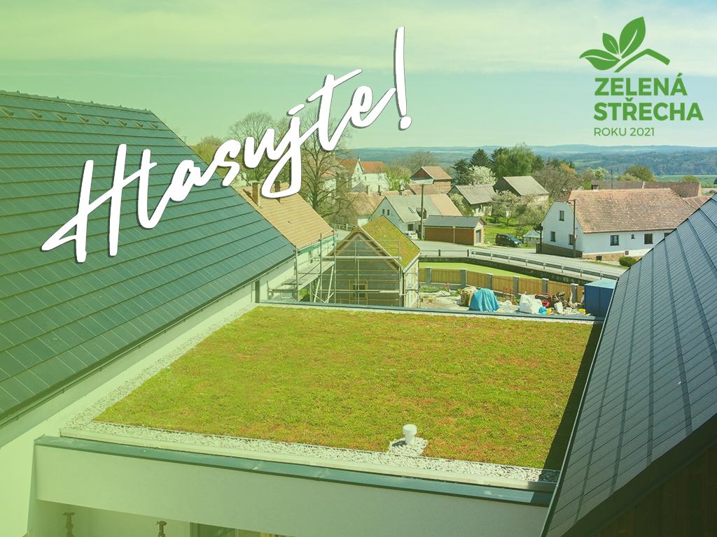 Hlasujte pro náš projekt v soutěži Zelená střecha roku!