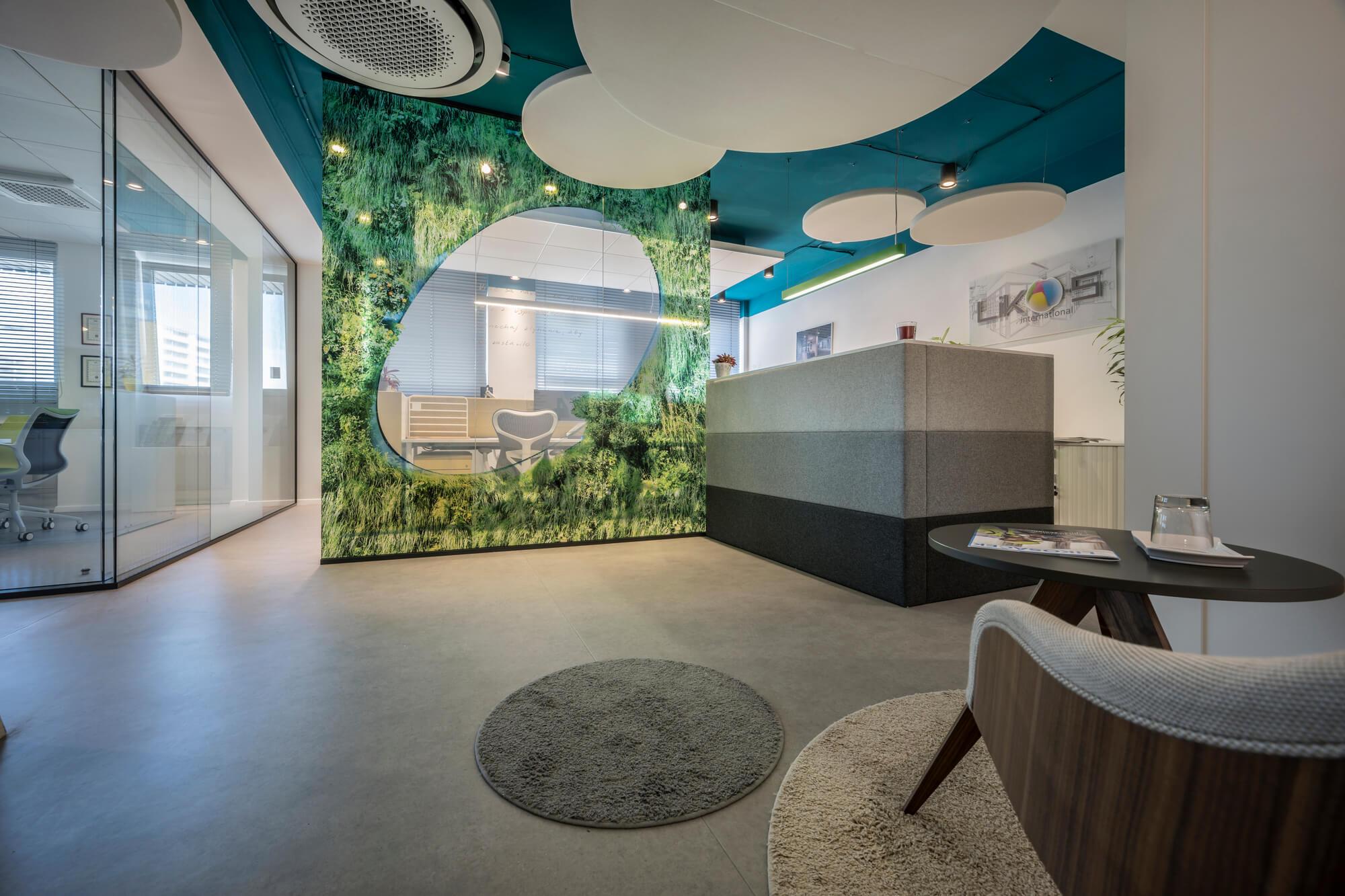 Kancelárie LIKO-S ako showroom