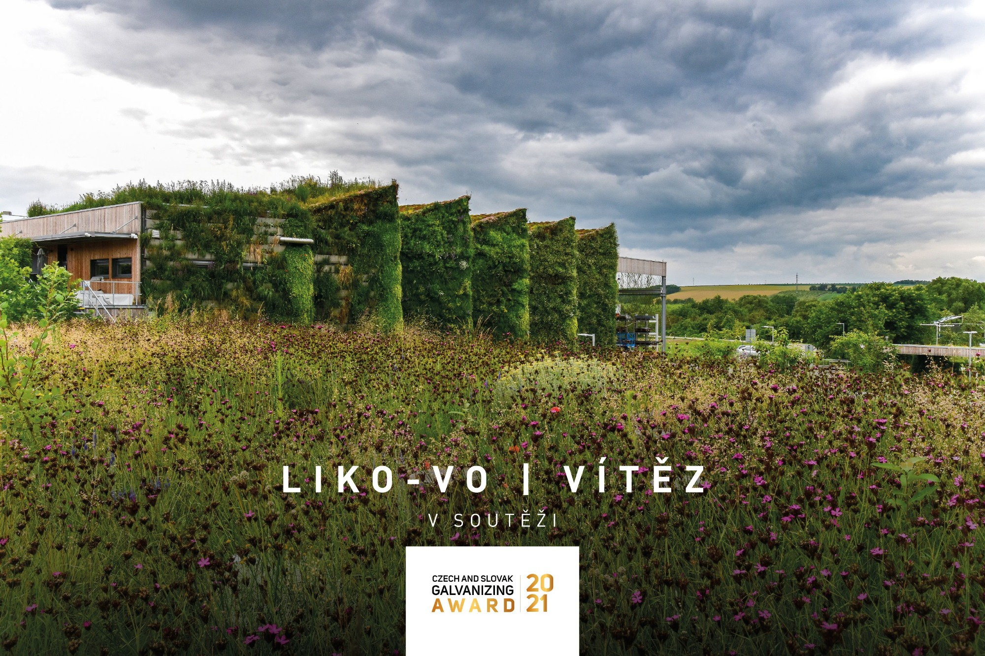 Živá hala LIKO-Vo víťazom Czech and Slovak GALVANIZING Award 2021