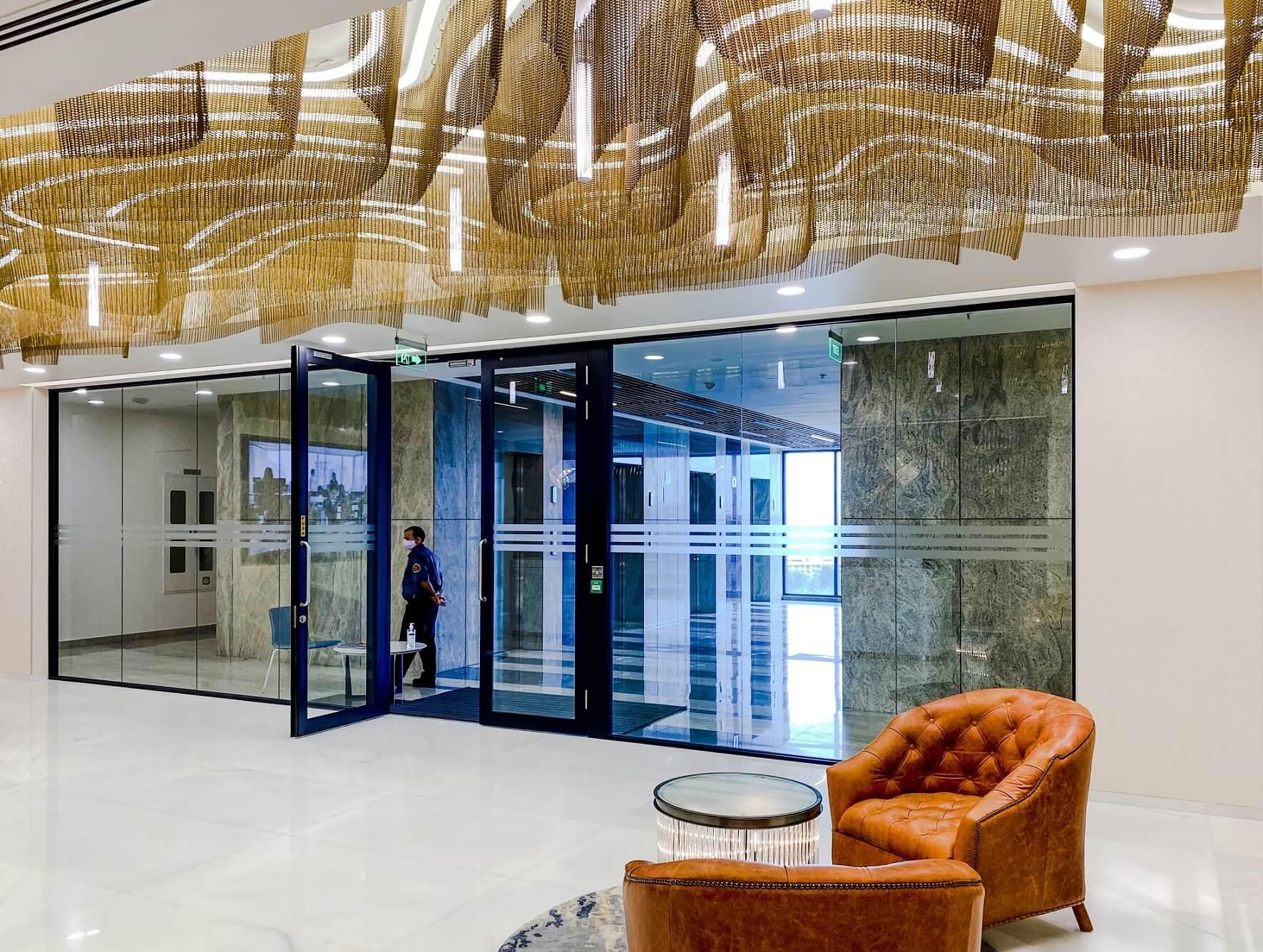 Pôsobivé interiéry kancelárií v Indii