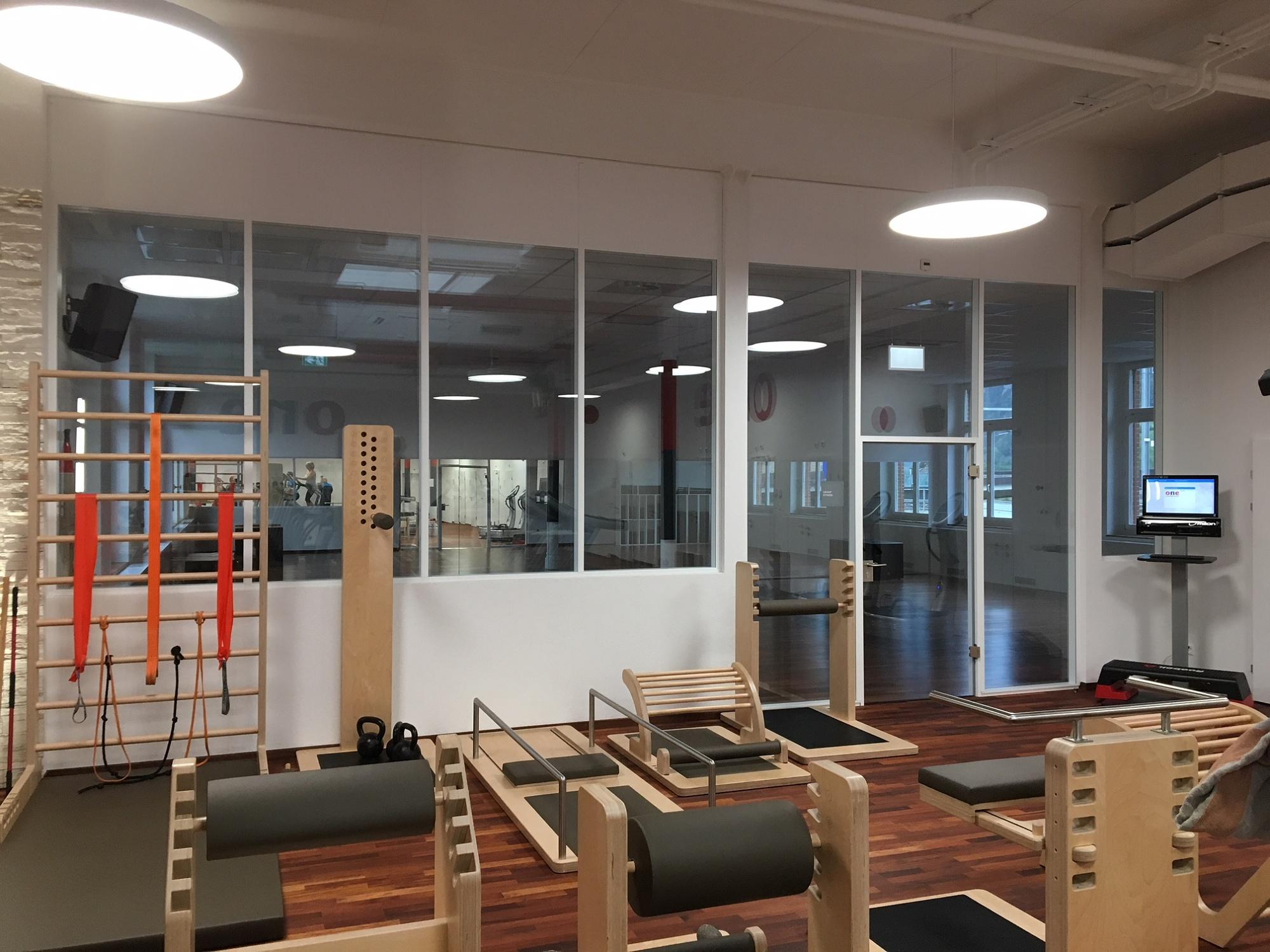 Prestavba fitness centrá Fabrikhalle vo švajčiarskom Altdorfe
