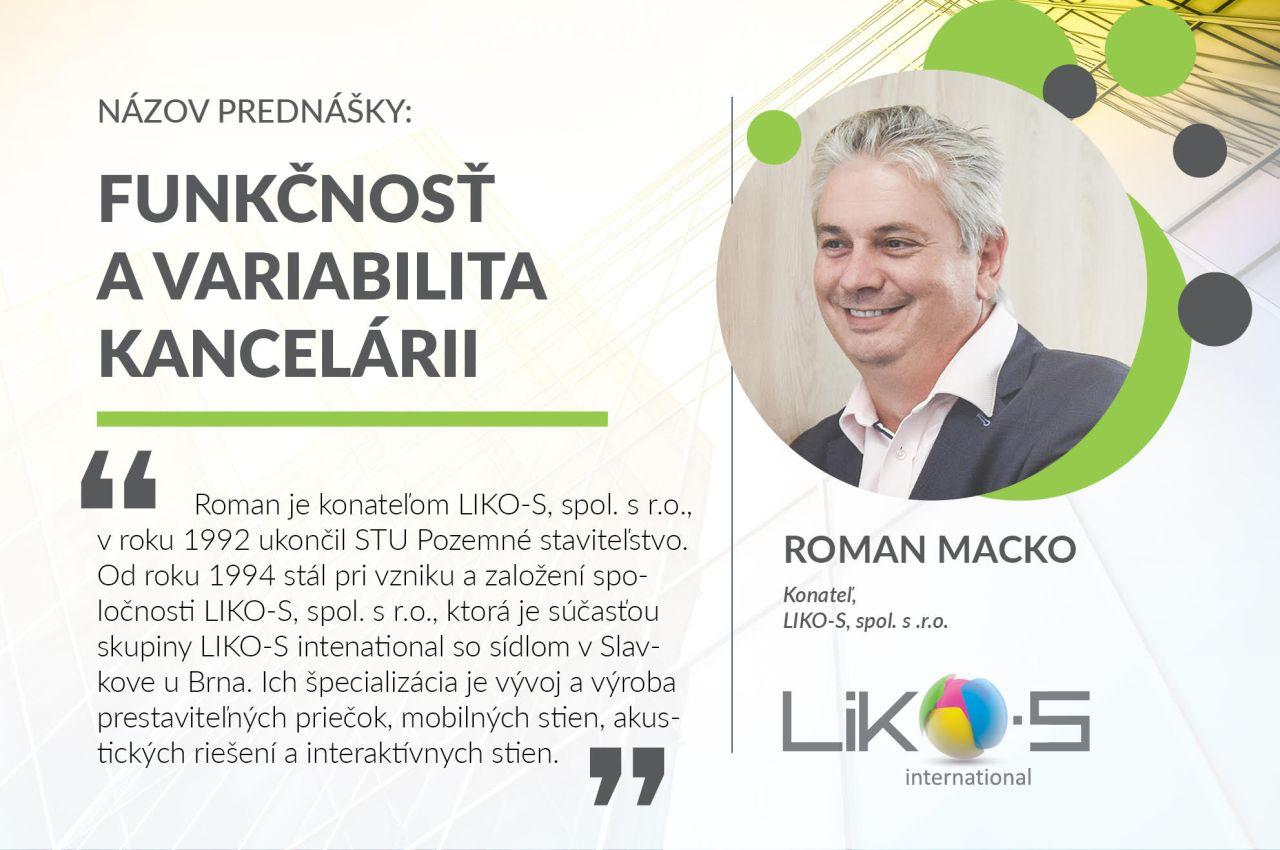 ROMAN MACKO NA KONFERENCI FM DAYS 2020