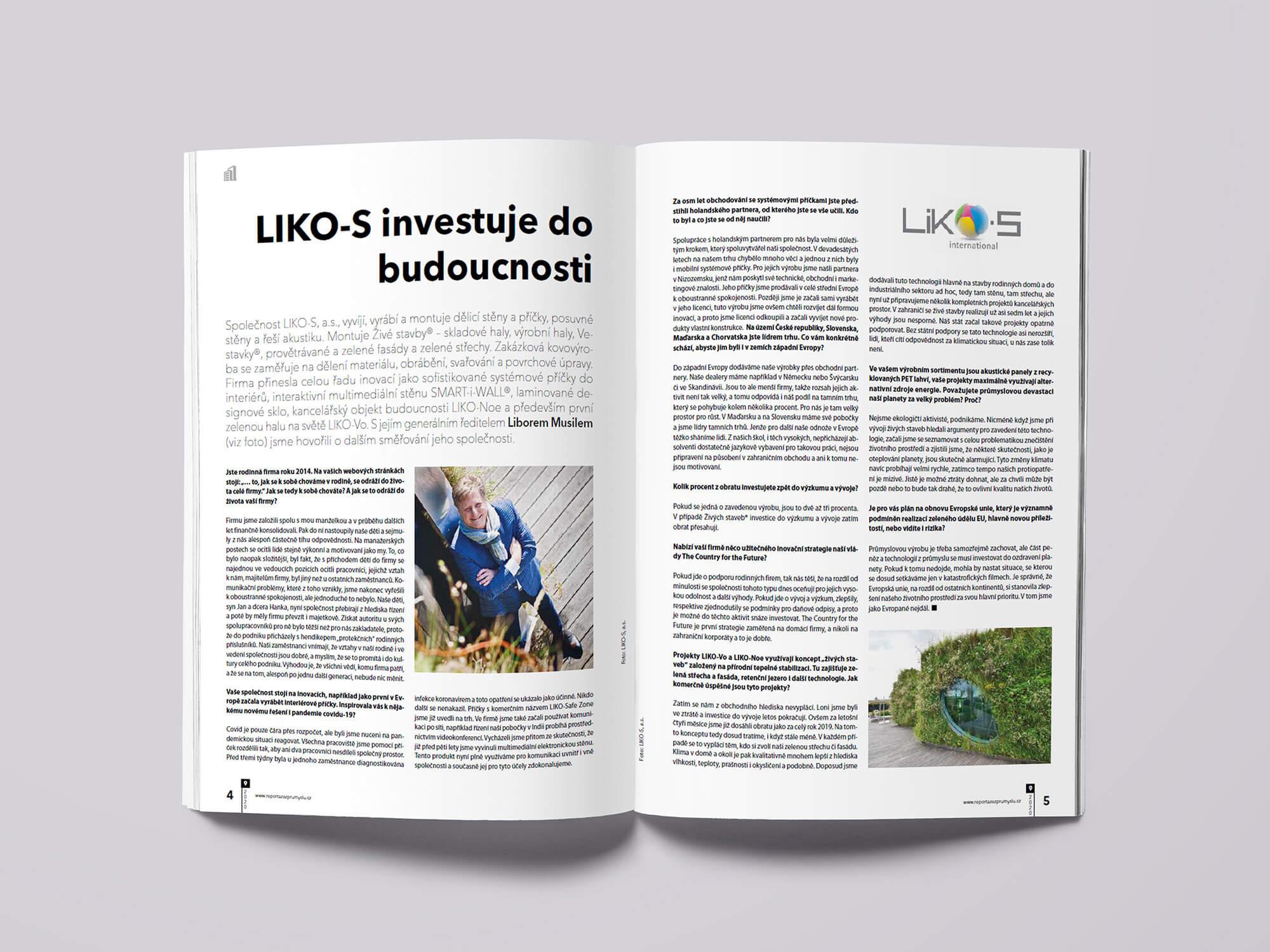 LIKO-S investuje do budúcnosti