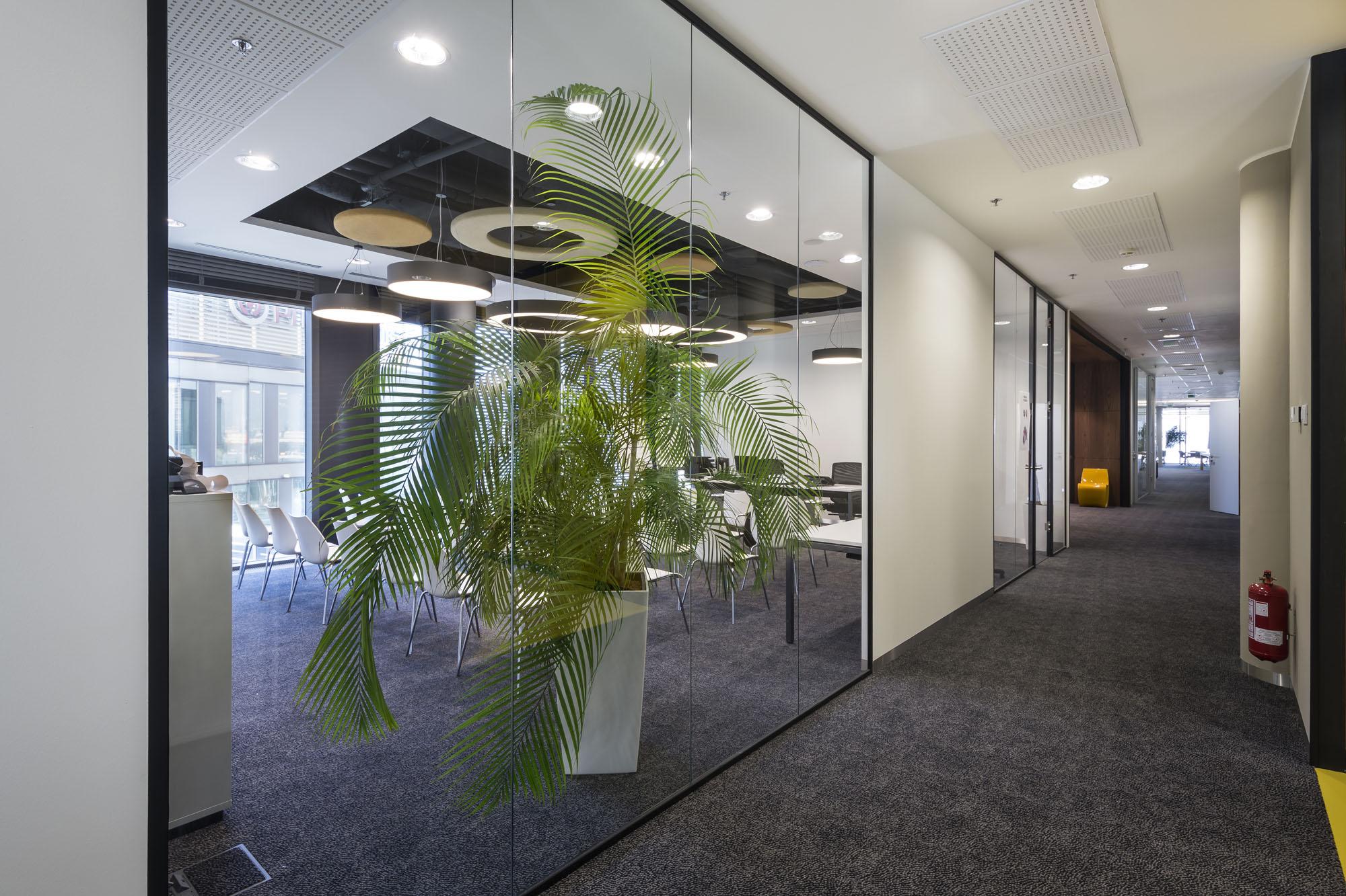Dotyky prírody v kancelárii