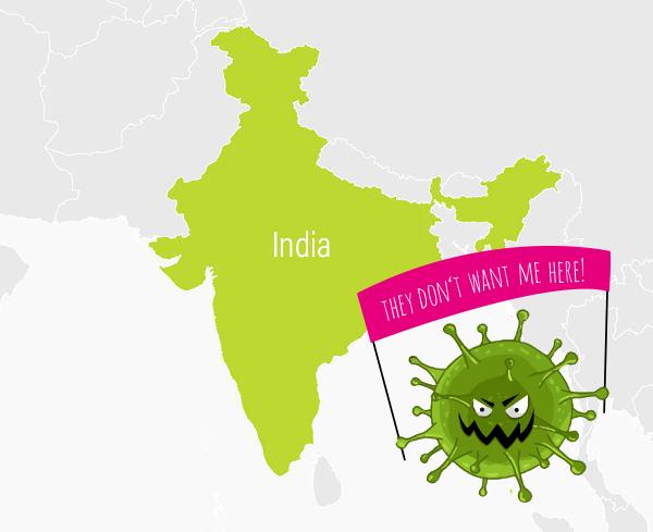 Opatření proti Koronaviru v Indii jsou striktní!