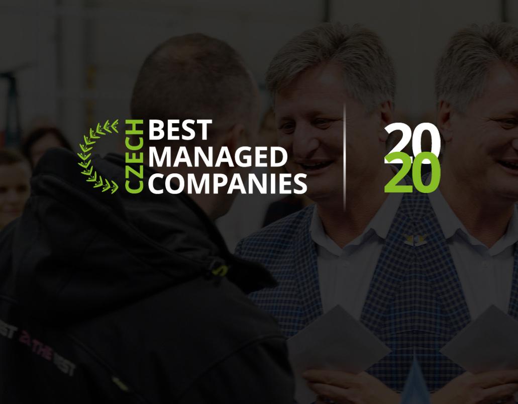 Jsme mezi deseti nejlépe řízenými firmami v Česku