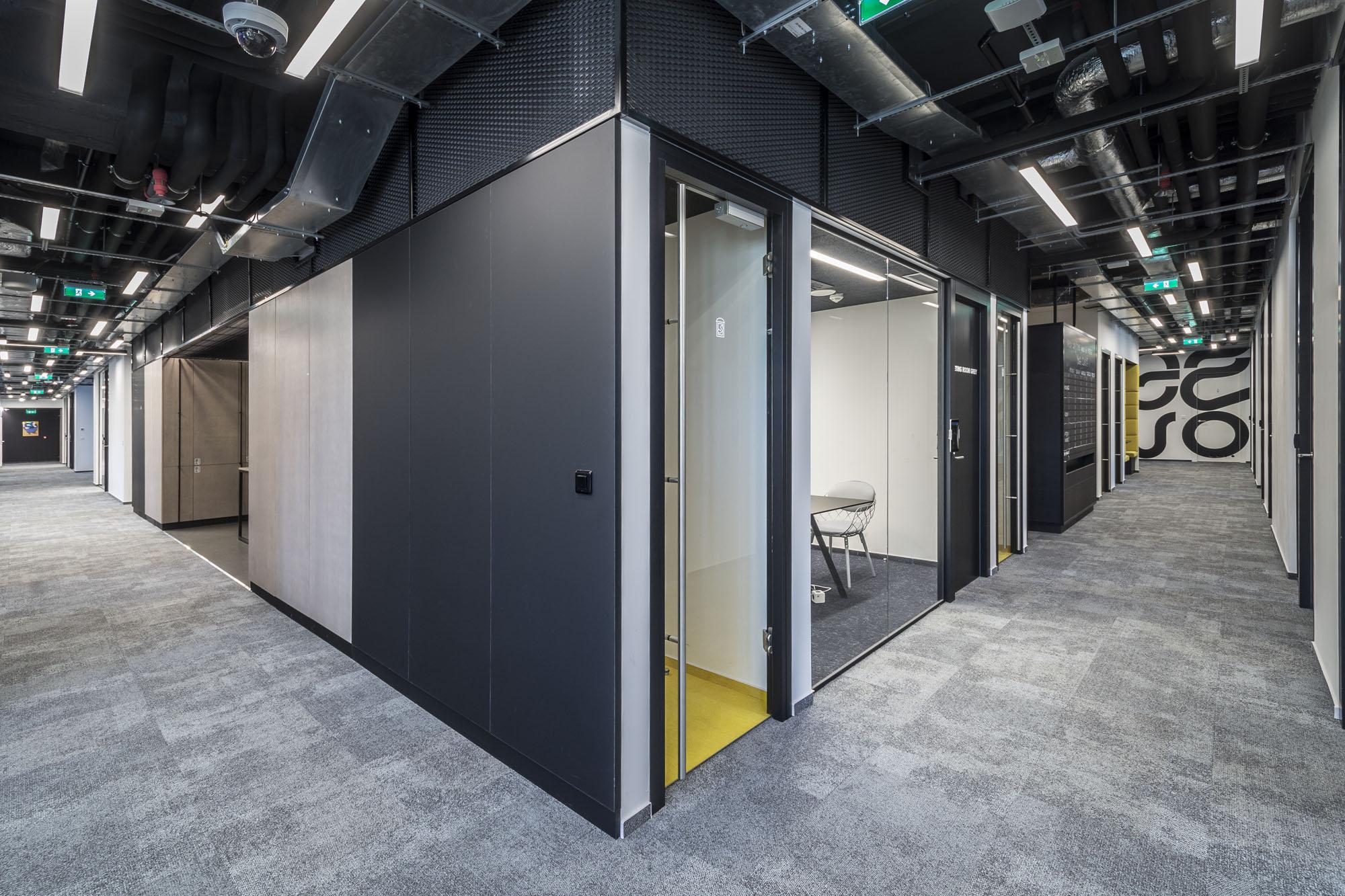 Coworkingové centrum v Prahe